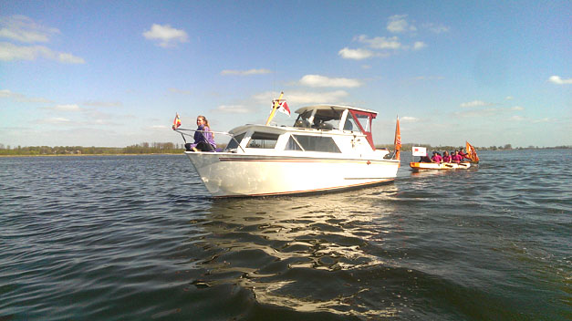 Onzr volgboot 'Angel'-site